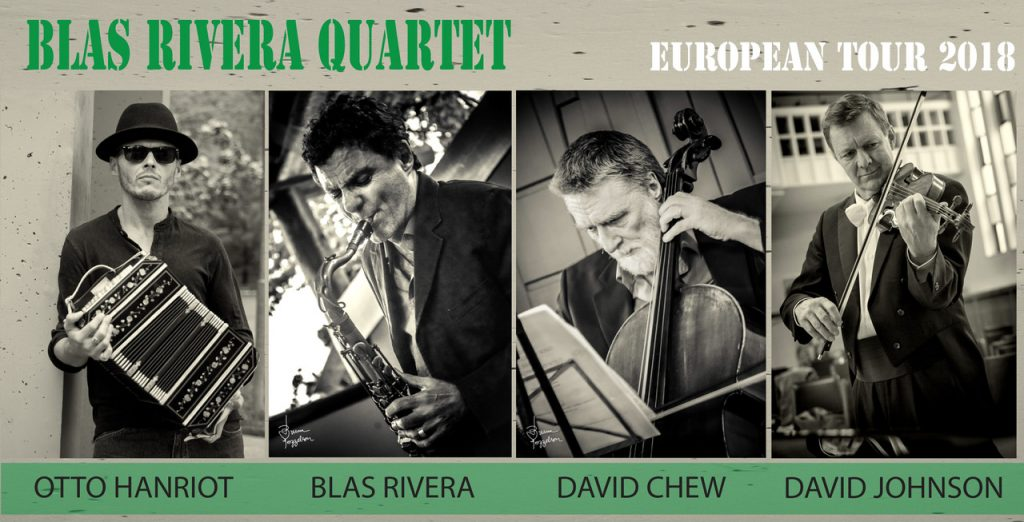 "quartet 1024x522 BLAS RIVERA QUARTET/TODD CLOUSER GROUP ""DOUBLE BILL""  salondejazz"